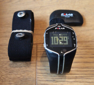 Polar FT80 heart rate monitor HRM running cycling aerobic exercise, boxed