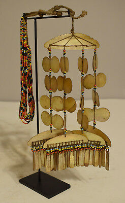 Necklace Mother of Pearl Sipattal Necklace Ineg Tribe Ceremonial Philippines