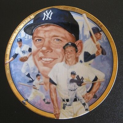 "The Legendary Mickey Mantle Sports Impressions 6"" Collector Plate"