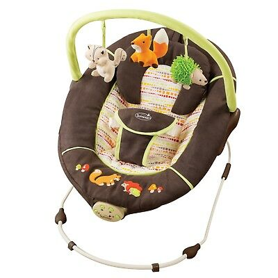 Summer Infant Baby Fox & Friends Bouncer Chair Very Gently Used