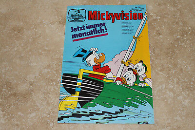 Micky Vision Nr. 50 -- 10/1974  (Zustand 1/-1) (maus donald duck)