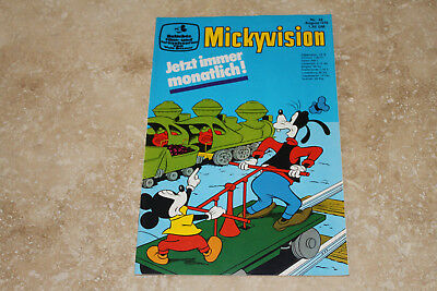 Micky Vision Nr. 48 -- 8/1974  (Zustand 1/-1) (maus donald duck)