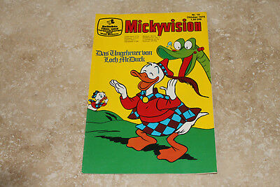 Micky Vision Nr. 10 -- 10/1976  (Zustand 1-) (maus donald duck)