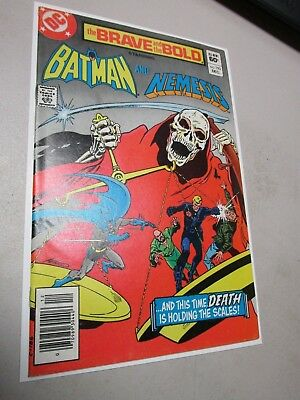 Brave and the Bold (1st Series DC) #193 1982 Higher Grade Bronze Age DC Nice