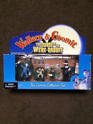 Wallace & Gromit The Curse Of The Were- Rabbit. ' The Carrot Collector Set' NIB