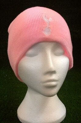N17 Club Tottenham Hotspur Pink Beanie Hat Ladies/girls Fit
