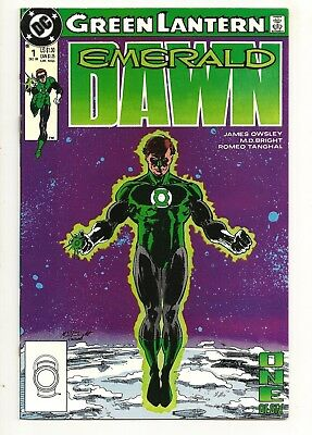 Green Lantern Emerald Dawn #1 DC Comics 1989 Hal Jordan VF