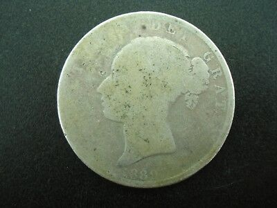 1880 Great Britain 1/2 Half Crown Silver Coin **NO RESERVE**