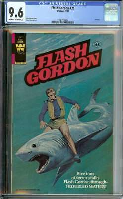 Flash Gordon #30 Cgc 9.6 Ow/wh Pages