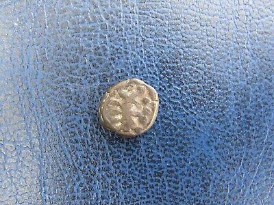 1 Kakini, copper, India, Naga dynasty, Deva Naga, c. 320-335 AD