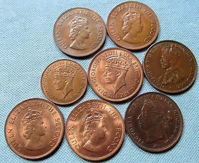 Lot 8 Great Britain States of Jersey Channel Islands Bailiwick Coins 1894-1966