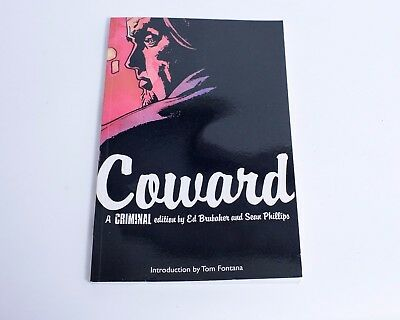 CRIMINAL VOLUME 1 COWARD GRAPHIC NOVEL New Edition Paperback by Ed Brubaker