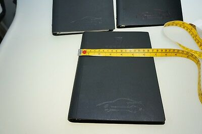 $.99 No Rsv Porsche 3 Factory Notebooks !!! Mechanics Training Genuine