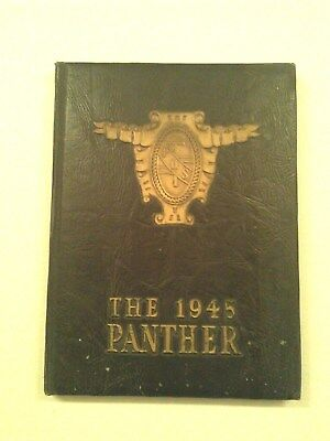 1945 Vintage Antique Tampa H.b. Plant High School Florida Rare Yearbook Annual