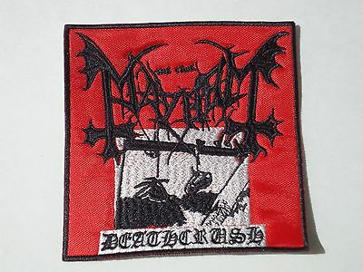 Mayhem Deathcrush Embroidered Patch