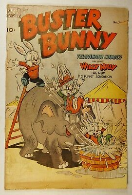 Buster Bunny #1 (Nov 1949, Standard Comics) Presenting Willy Nilly - First Issue