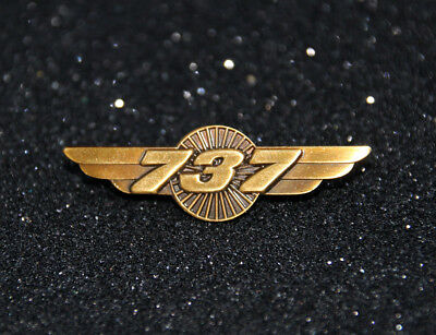 Boeing 737 WINGS Turbine bronze Pilot Crew B737 uniform Pilot Wing metal 40mm