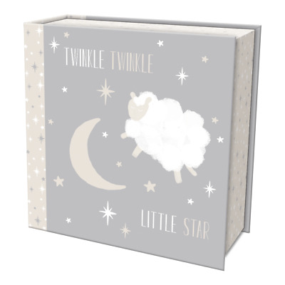 Punch Studio E8 Lady Jayne Baby Girl Boy First Keepsake Box Twinkle Stars 84071