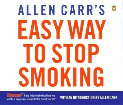 NEW Allen Carr's Easy Way To Stop Smoking By Allen Carr Audio CD Free Shipping