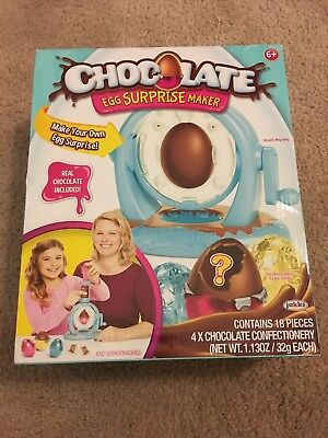 Chocolate Egg Surprise Maker Toy Fast Free Shipping Brand New