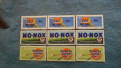Vintage Gulf Oil Company Ink Blotters