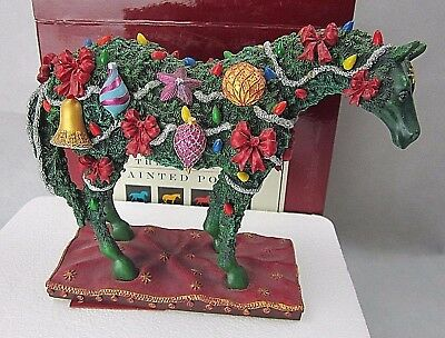 """""""Deck The Halls"""" Trail of Painted Ponies #12216 Figurine in Box 2E/0013"""