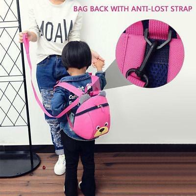 Baby Walking Safety Anti Lost Backpack Leash Toddler School Bag With Strap LJ