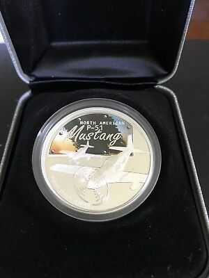 1oz Mustang Plane Fighter Planes of WWII