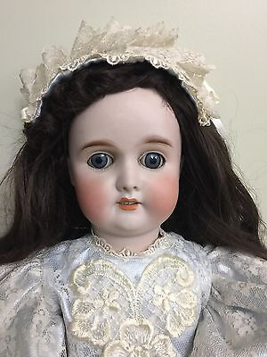 """Antique Doll CM Bergman Bisque In a Comp Body 24"""" Tall"""