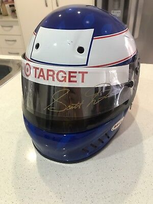 Scott Dixon Signed Race Helmet.
