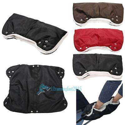 Winter Waterproof Pram Hand Muff Buggy Gloves Baby Pushchair Warm Stroller