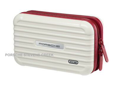 Porsche Rimowa Multipurpose Case Toiletries Case Small Travel Luggage WHITE