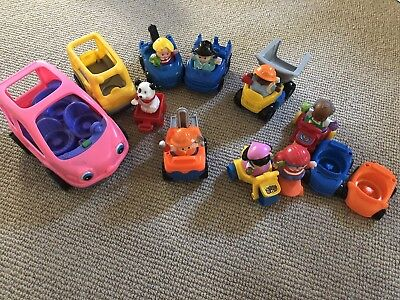 Fisher Price Little People Cars, Vehicles, Slate Board
