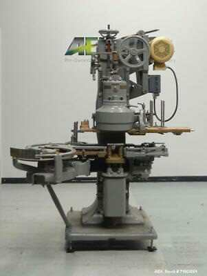 Used- American Can (Canco) Model 08 Single Head Can Seamer. Capable of speeds fr