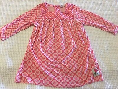 Baby Girls JACK & MILLY Long Sleeved Dress - VGUC - Size 0