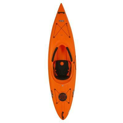 "123"" Heavy Duty Orange Kayak Built In Bottle Holder Ledge Lock Paddle Keeper"