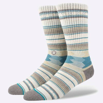 New Stance Socks - Crew - Guadalupe - Taupe from The WOD Life