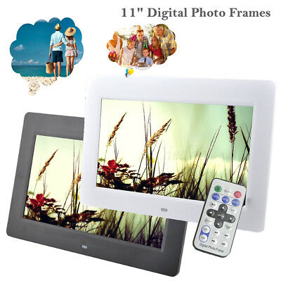 10'' HD LED Digital Photo Frame Picture Album Clock Calendar MP3/4 Movie Player