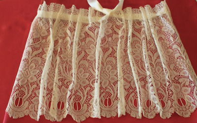 Stunning Antique Bandeau Lace Blouse Tiny & Very Light