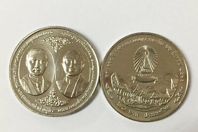 "THAILAND 20 BAHT ""100th ANNIVERSARY OF CHULALONGHORN UNIVERSITY"" COIN 2017 UNC"