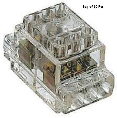 RS Pro 6 Way Commoning Block, Screw Down Termination 60A 450 V, Z6-6 - New