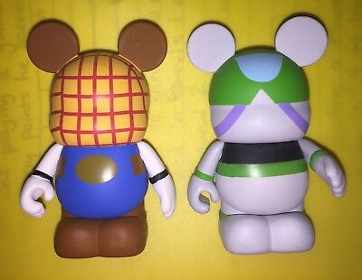 COLLECTIBLE DISNEY VINYLMATION 3' Figurine TOY STORY buzz woody lot