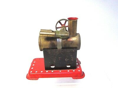Vintage Mamod Static Steam Engine for Restoration