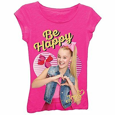 Nickelodeon Girls Jojo Siwa Girl's Sizes 7-16 Short Sleeve Pink T-Shirt