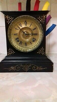 ansonia mantle clock