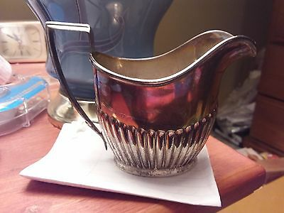 Sterling Silver Creamer - 100.9 Grams - Hallmarked