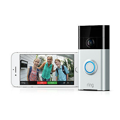 Doorbell Ring  Video WIFI Türklingel Klingel Tür Sprechanlage für Amazon Alexa