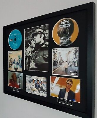 Liam Gallagher Original Oasis Maine Road 1996 montage-Definitely Maybe