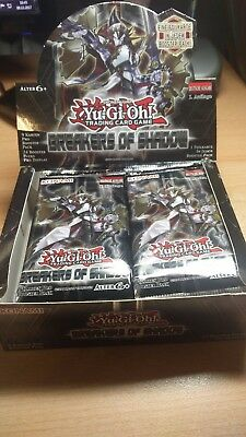 YUGIOH Breakers of Shadow Display(fast ganz 22 Booster) Deutsch 1. Auflage