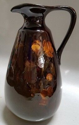Rookwood Art Pottery Pitcher / Ewer - 1900 Carl Schmidt - Apple Blossoms  7 1/2""
